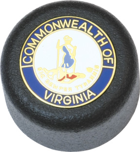 ASP Baton Cap Virginia State Seal