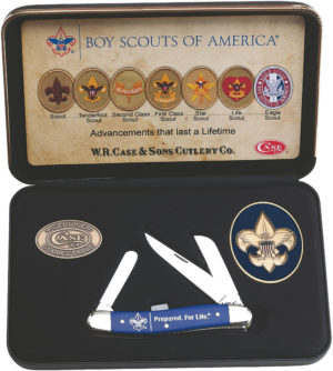 Case Cutlery Boy Scout Stockman Gift Set