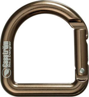 Casstrom Carabiner Antique Brass
