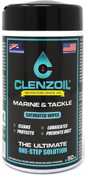 Clenzoil Marine/Tackle Saturated Wipes