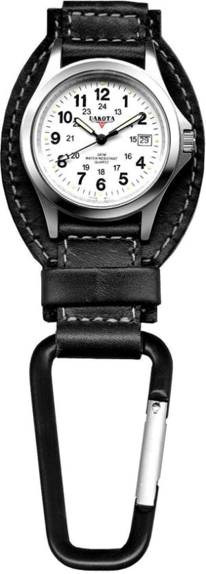 Dakota Leather Hanger Watch Black