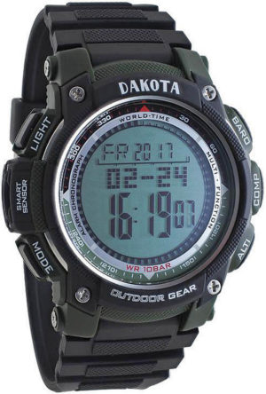 Dakota A/B/C Multi Sensor Watch Green