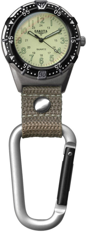 Dakota Back Packer Clip Watch Tan