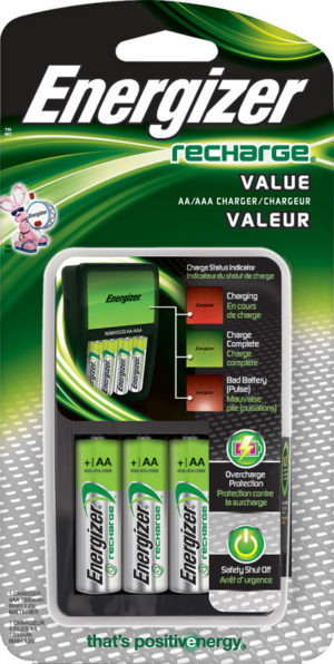 Energizer Battery Charger AA/AAA