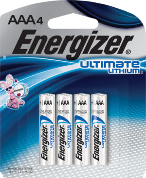 Energizer Ultimate Lithium AAA Battery 4