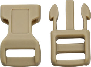 Knotty Boys Buckle Coyote 100 Pack