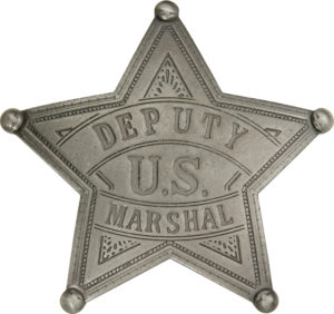 Badges Of The Old West US Deputy Marshal Badge