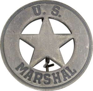 Badges Of The Old West US Marshal Badge
