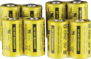 Nitecore CR2 3V Lithium Battery 8-Pack
