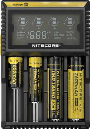 Nitecore Digicharger Battery Charger D4