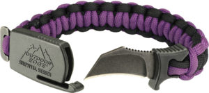 Outdoor Edge Paraclaw Purple Small