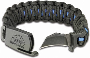 Outdoor Edge Paraclaw Thin Blue Line Large
