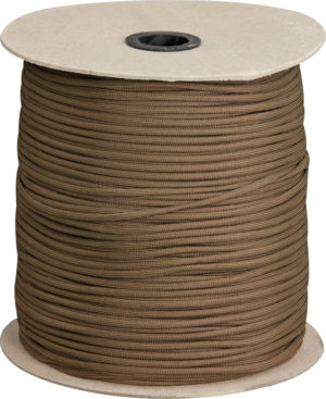 Marbles Parachute Cord Brown 1000 ft