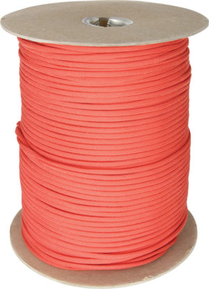 Atwood Rope MFG Parachute Cord Red 1000 Ft
