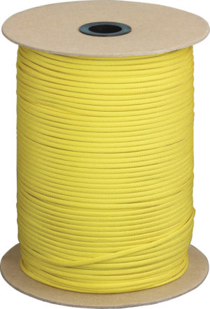 Atwood Rope MFG Parachute Cord Yellow 1000 ft