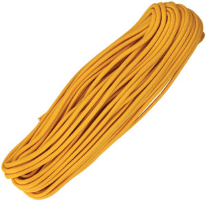 Atwood Rope MFG Parachute Cord Air Force Gold