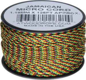 Atwood Rope MFG Micro Cord 125ft Jamaican