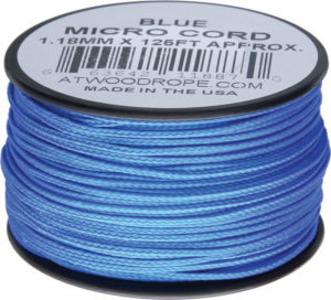 Atwood Rope MFG Micro Cord 125ft Blue