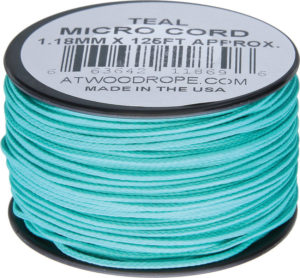 Atwood Rope MFG Micro Cord 125ft Teal