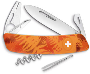 Swiza TT03 Tick Tool Orange Fern