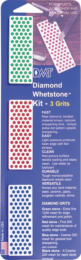 DMT Diamond Whetstone Kit
